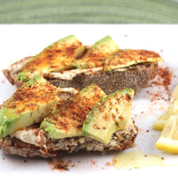 Avocado + Hummus Toast